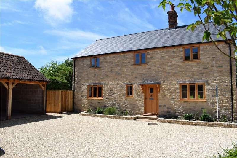 3 Bedrooms Detached House for sale in Chalk Pit Lane, Litton Cheney, Dorchester, Dorset