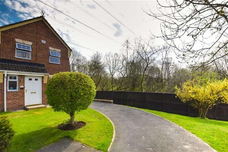 3 Bedrooms End Of Terrace House for sale in Alphingate Close, Stalybridge