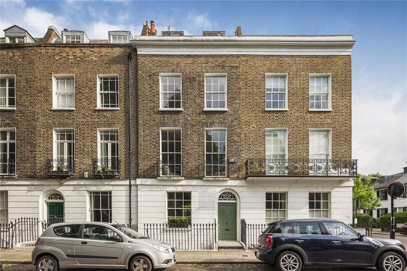 4 Bedrooms Terraced House for sale in Pembroke Square, Kensington, London, W8