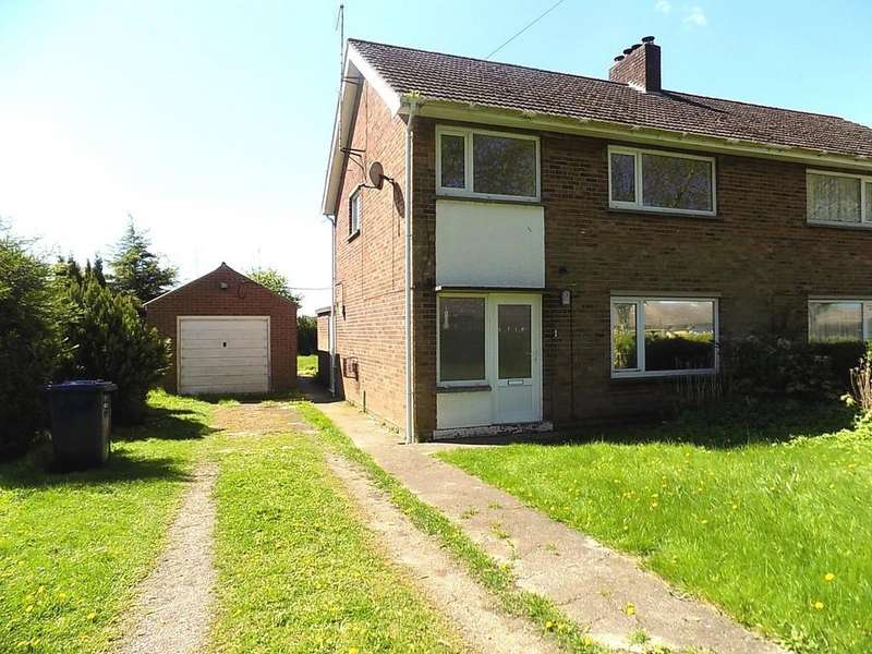 3 Bedrooms Semi Detached House for sale in Station Road, Coldham