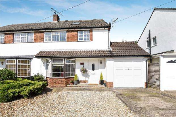 4 Bedrooms Semi Detached House for sale in Rochester Avenue, Woodley, Reading