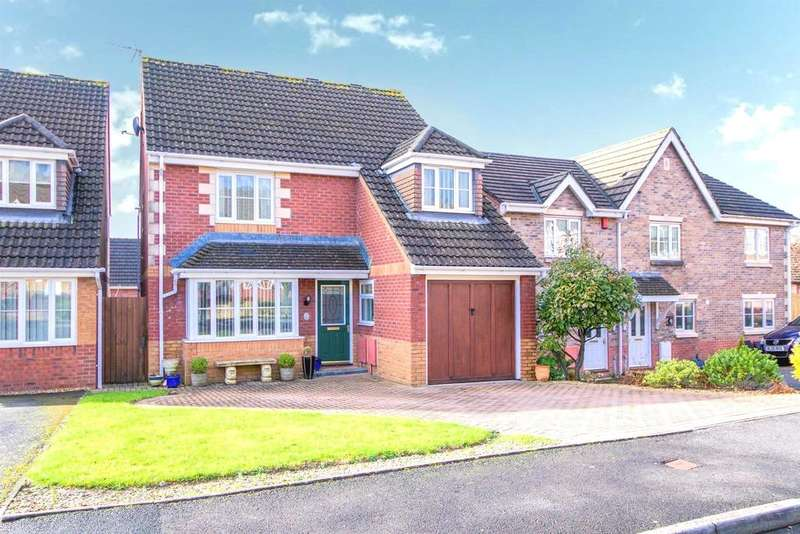 4 Bedrooms Detached House for sale in Swn Yr Aderyn, Kenfig Hill, Bridgend