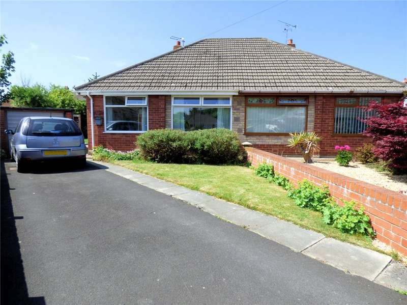 2 Bedrooms Semi Detached Bungalow for sale in Trunnah Gardens, Thornton-Cleveleys