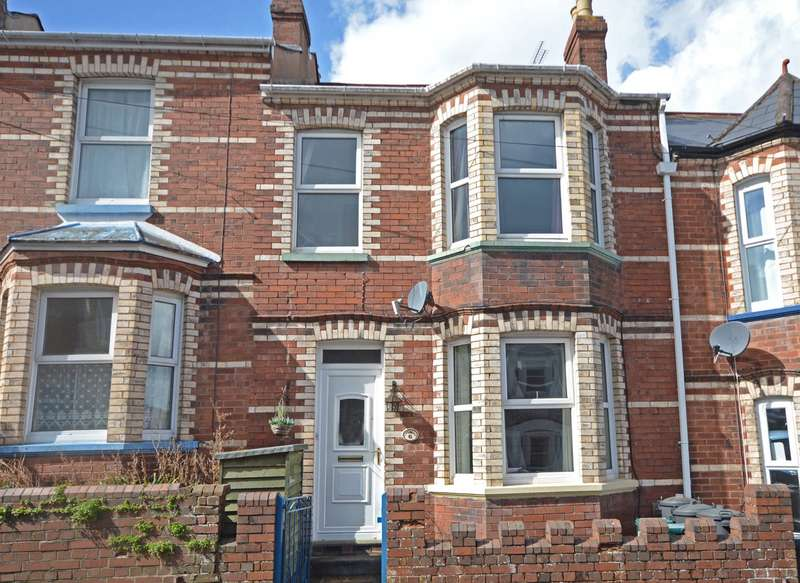 3 Bedrooms Terraced House for sale in Mount Pleasant, Exeter, Devon