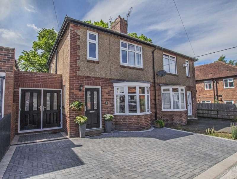 3 Bedrooms Semi Detached House for sale in Aydon Avenue, Corbridge