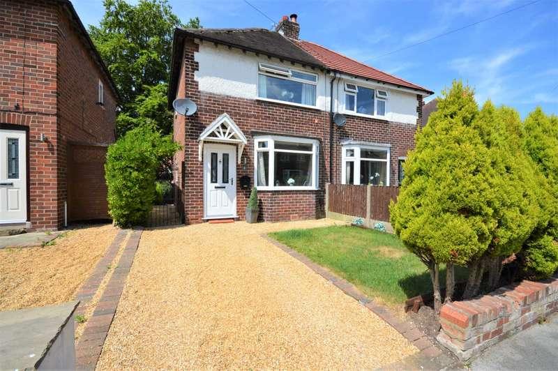 2 Bedrooms Semi Detached House for sale in Garthland Road, Hazel Grove