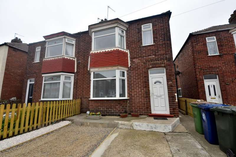 3 Bedrooms Semi Detached House for sale in Grinkle Road, Redcar TS10
