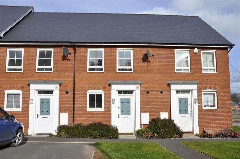 2 Bedrooms Terraced House for sale in Hillside Gardens, Pinhoe, Exeter