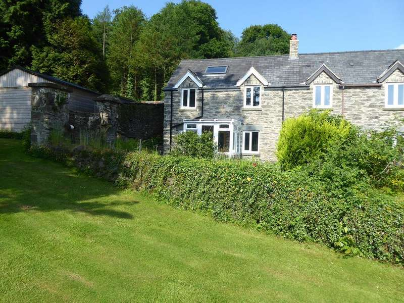 2 Bedrooms End Of Terrace House for sale in 1 Bryn Tegid Cottages, Llanycil, Bala LL23