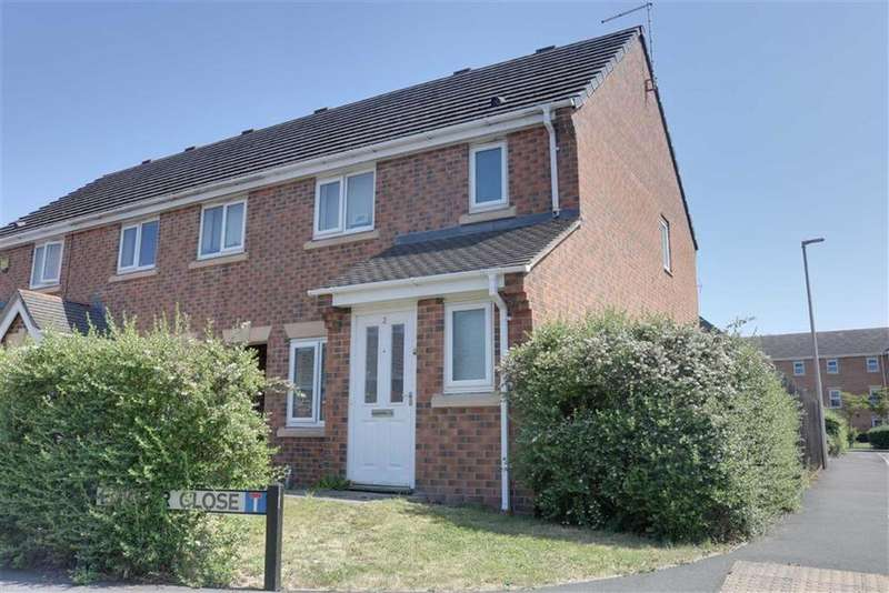 3 Bedrooms Mews House for sale in Fowler Close, Crewe