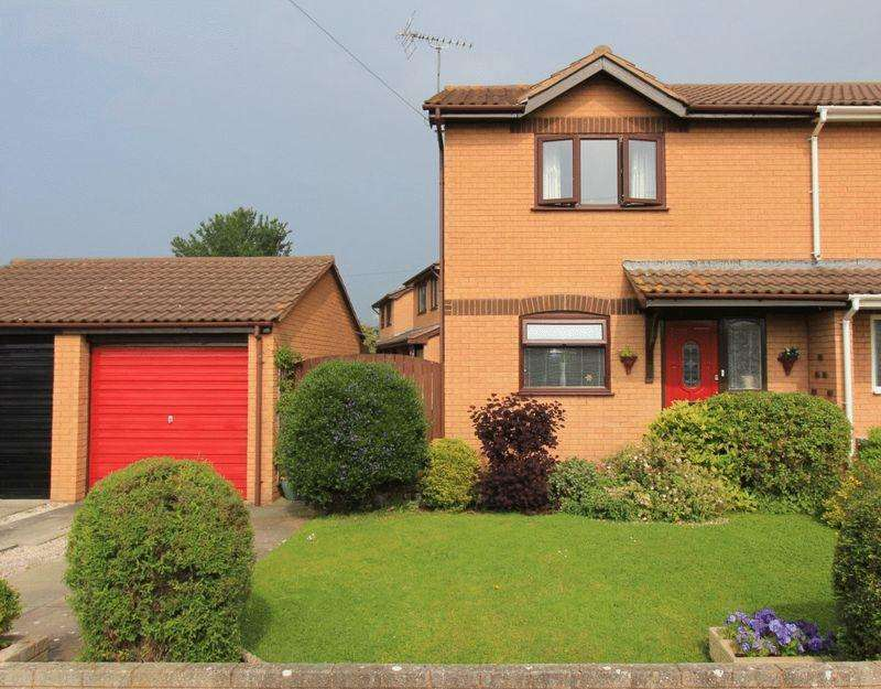 2 Bedrooms Semi Detached House for sale in Ash Court, Rhyl