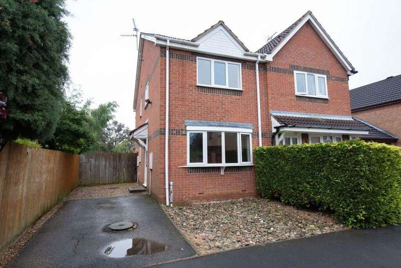 3 Bedrooms Semi Detached House for sale in Kesteven Way, Bourne, PE10