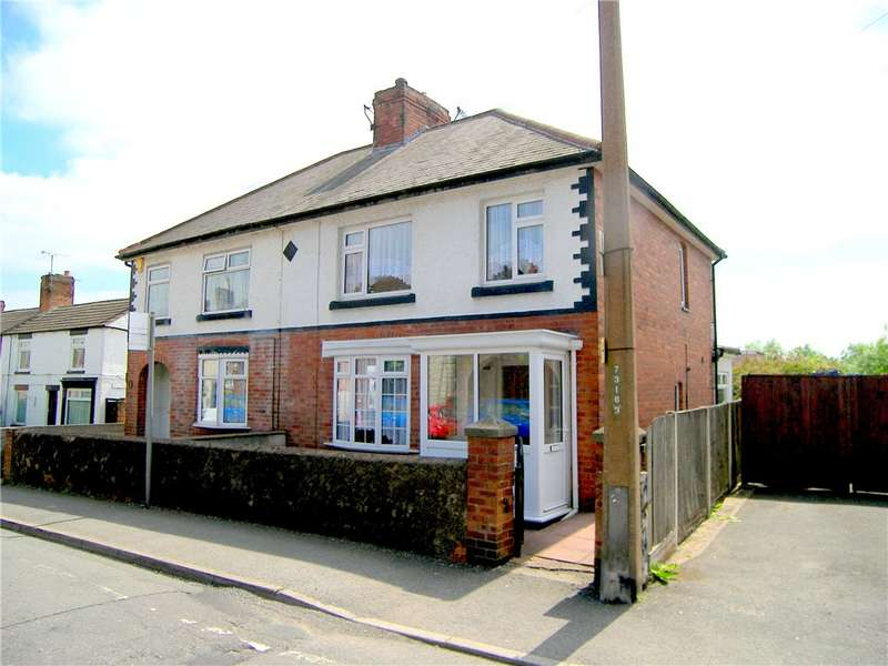 3 Bedrooms Semi Detached House for sale in Birchwood Lane, Somercotes, Alfreton, Derbyshire, DE55