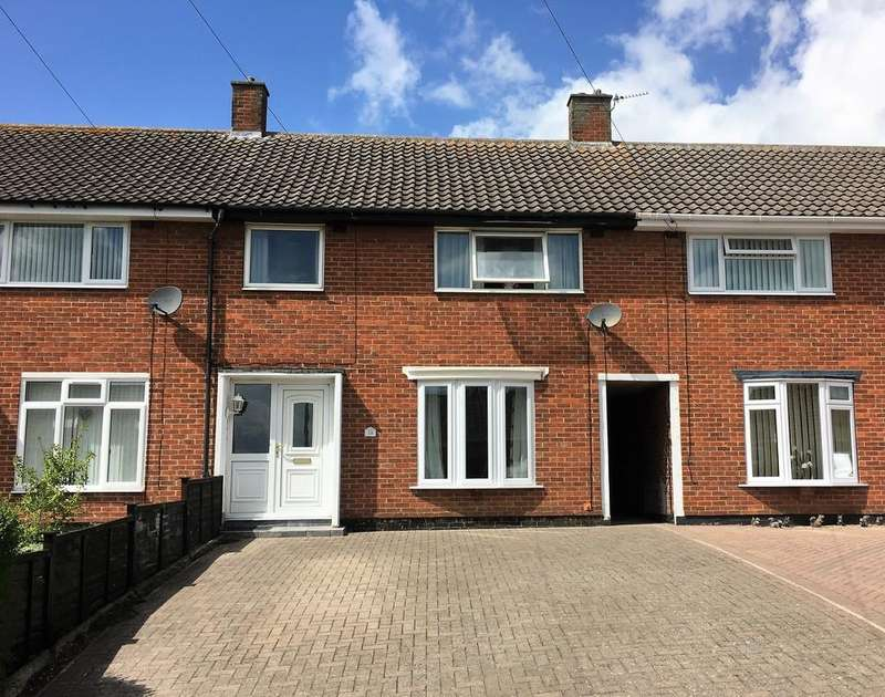 3 Bedrooms Terraced House for sale in Charnwood Drive, Melton Mowbray