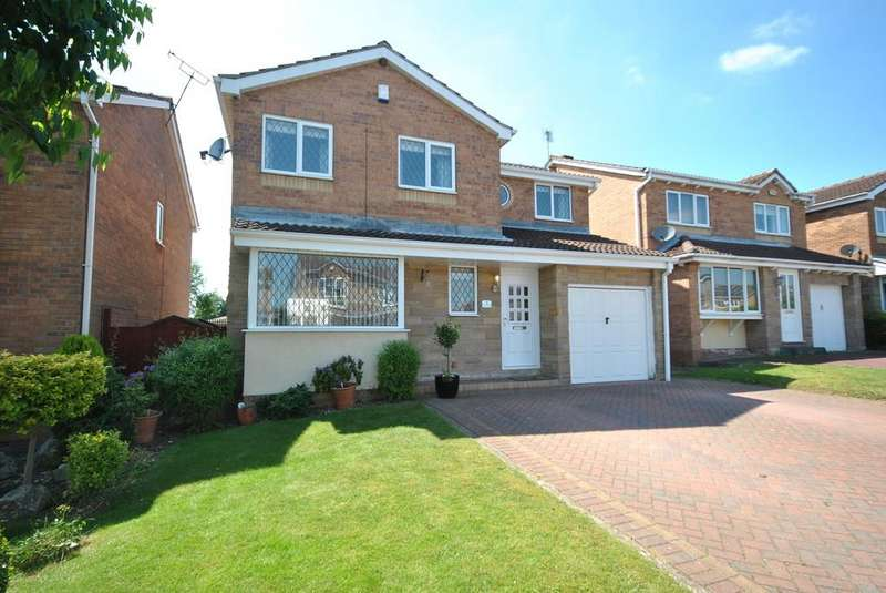 4 Bedrooms Detached House for sale in Rye Croft, Tickhill