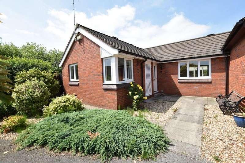 2 Bedrooms Semi Detached Bungalow for sale in Ettrick Park, Vicars Cross