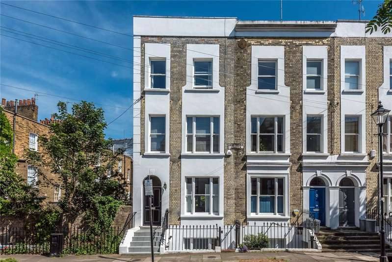 3 Bedrooms End Of Terrace House for sale in Grantbridge Street, Islington, London, N1