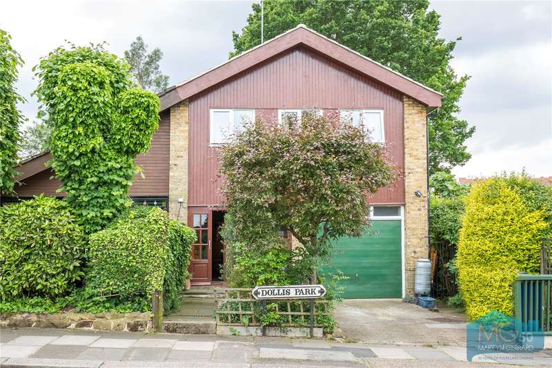 3 Bedrooms Semi Detached House for sale in Dollis Park, Church End, London, N3