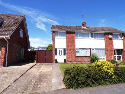 3 Bedrooms Semi Detached House for sale in Seaton Road, Wigston, Leicester, Leicestershire