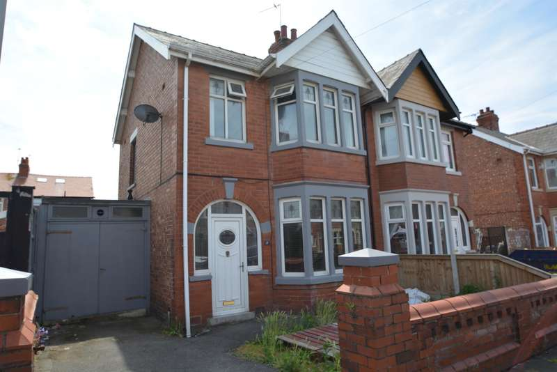 3 Bedrooms Semi Detached House for sale in Mayfair Road, Blackpool, FY1 6QZ
