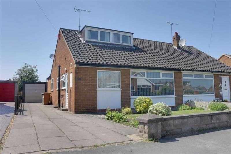 3 Bedrooms Semi Detached Bungalow for sale in Coleridge Way, Crewe