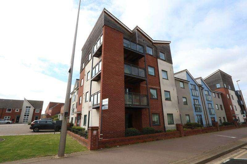2 Bedrooms Apartment Flat for sale in Somerset Walk, Milton Keynes