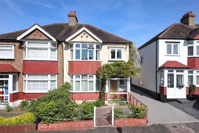 3 Bedrooms Semi Detached House for sale in Norbury Close, Norbury, SW16