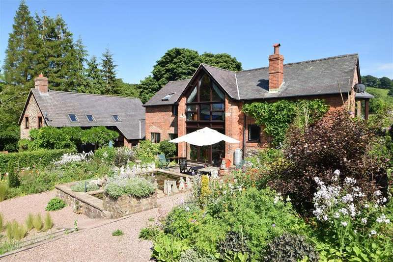 5 Bedrooms House for sale in Manor farm, Ratlinghope, Nr Shrewsbury SY5 0SR