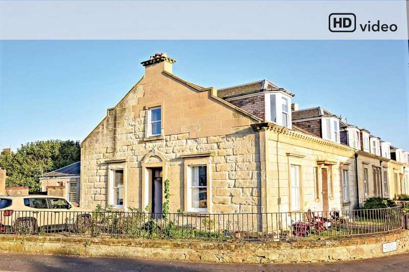 4 Bedrooms End Of Terrace House for sale in 1 Arran Terrace, Ayr, South Ayrshire, KA7 1JF