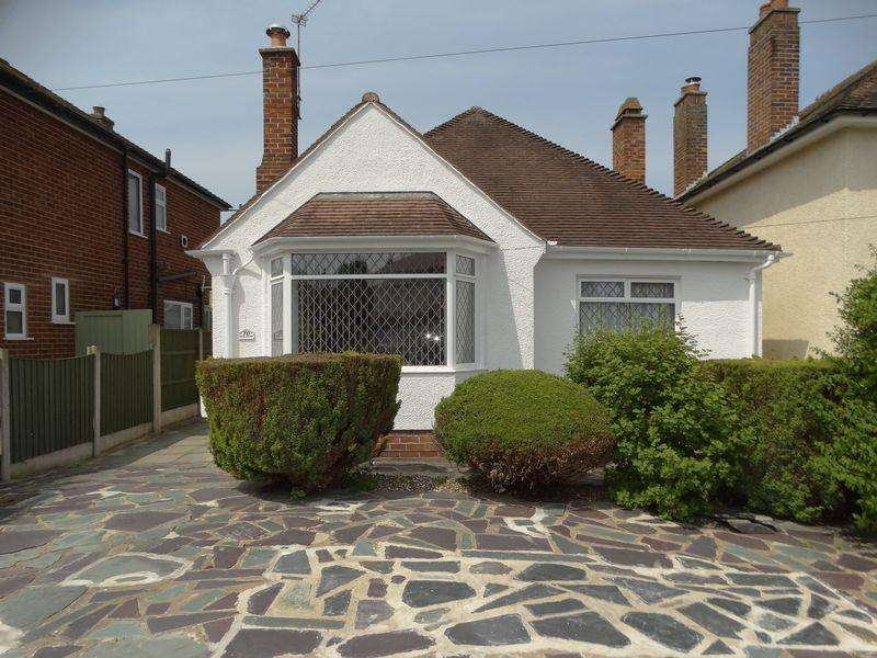 2 Bedrooms Detached Bungalow for sale in Church Road, Colwyn Bay
