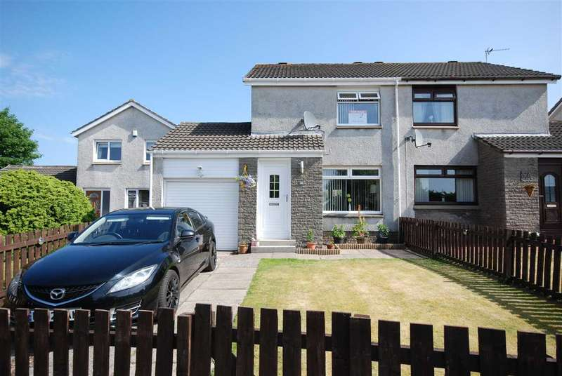 2 Bedrooms Semi Detached House for sale in Hillpark Rise, Kilwinning