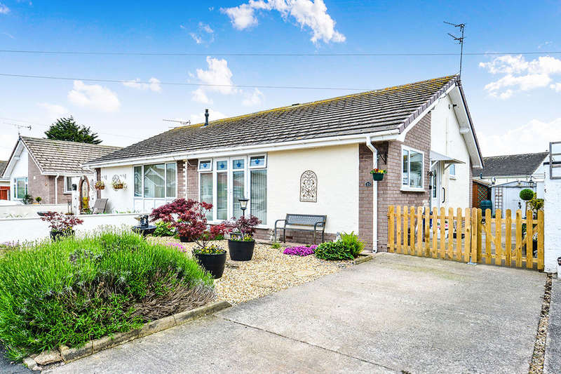 2 Bedrooms Semi Detached Bungalow for sale in Plastirion, Towyn, Abergele, LL22