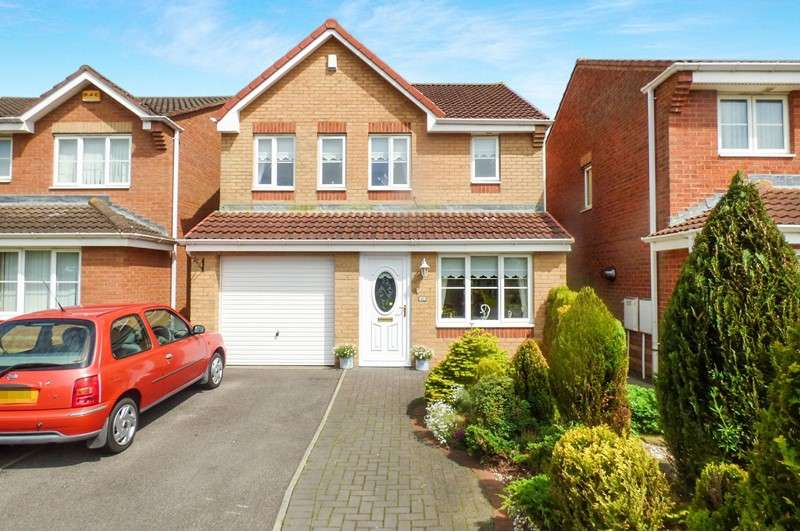 3 Bedrooms Property for sale in Holwick Close, Templetown, Consett, Durham, DH8 7UJ