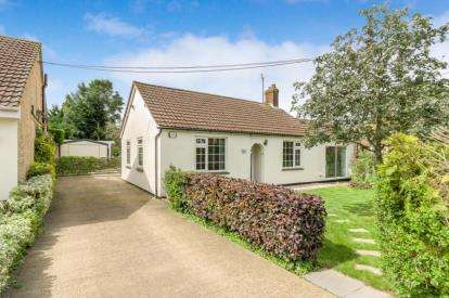 4 Bedrooms Bungalow for sale in Crane Way, Cranfield, Bedford, Bedfordshire