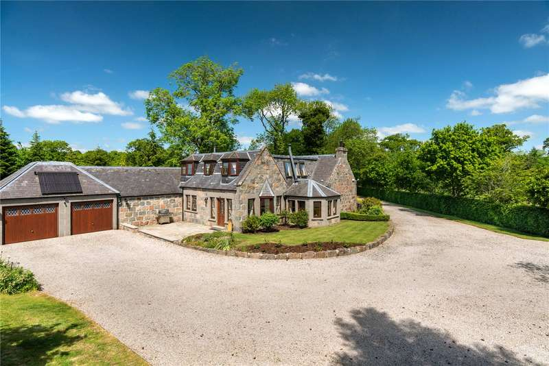 4 Bedrooms Detached House for sale in Greenburn Cottage, Castle Fraser, Inverurie, Aberdeenshire, AB51