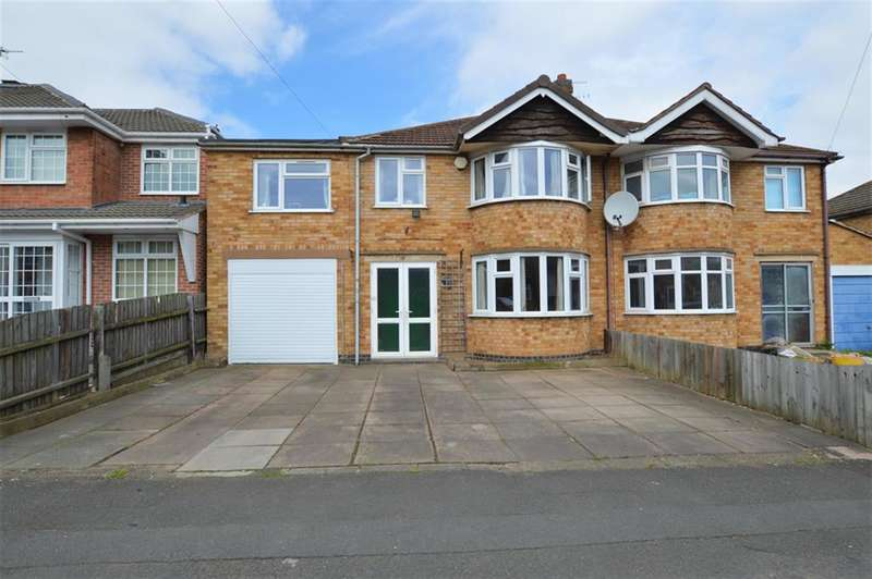 5 Bedrooms Semi Detached House for sale in Shackerdale Road, Wigston , LE18 1BQ