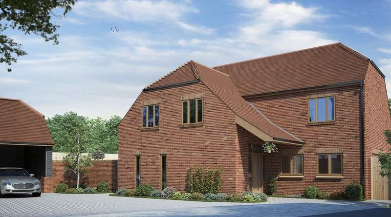 5 Bedrooms Detached House for sale in The Martlets, Hailsham, East Sussex, BN27