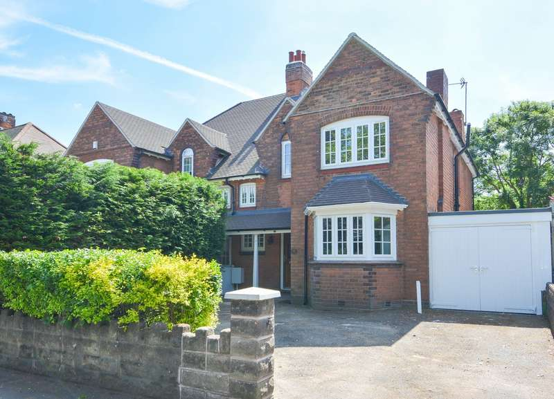 4 Bedrooms Semi Detached House for sale in City Road, Edgbaston, Birmingham, B16