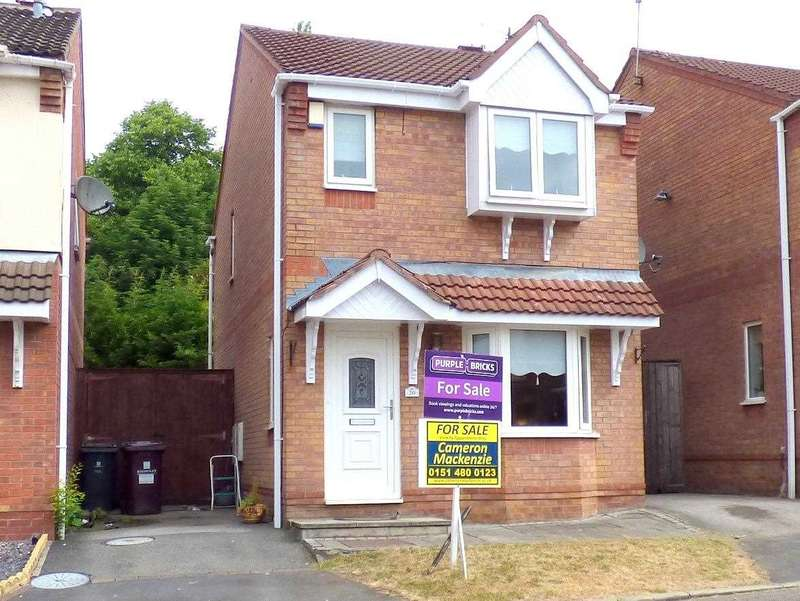 3 Bedrooms Detached House for sale in Newark Close, Huyton, Liverpool