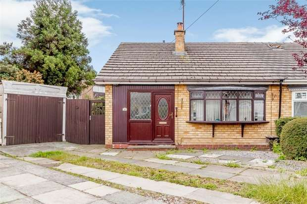 2 Bedrooms Semi Detached Bungalow for sale in Kennedy Close, Chester, Cheshire