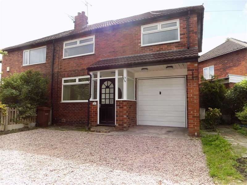 3 Bedrooms Semi Detached House for sale in Harrogate Road, Stockport