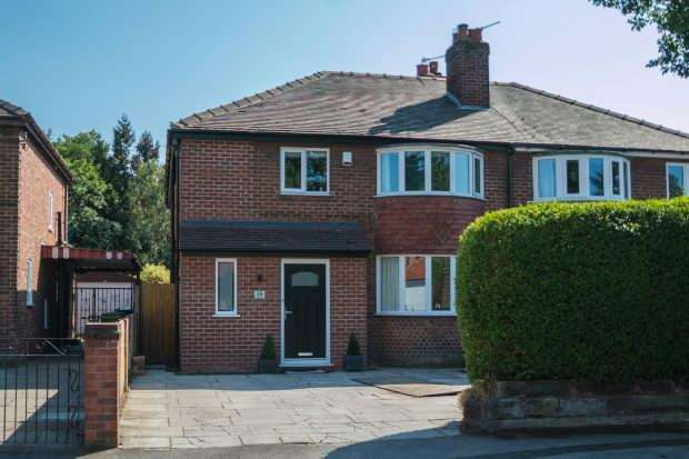 4 Bedrooms Semi Detached House for sale in Woodcote Road, Timperley