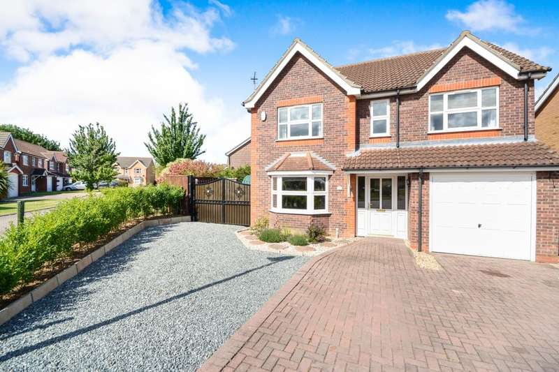 4 Bedrooms Detached House for sale in Stroykins Close, Grimsby, DN34