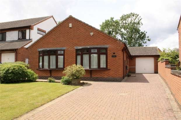 2 Bedrooms Detached Bungalow for sale in Claybrooke Magna