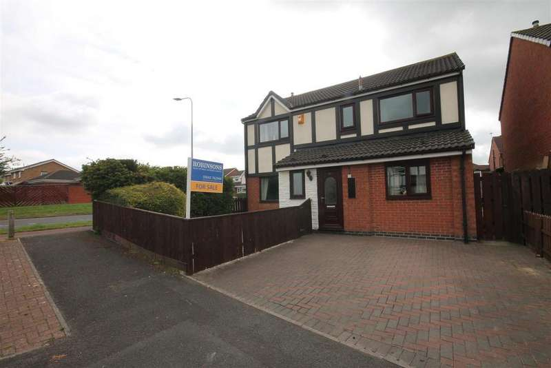 4 Bedrooms Detached House for sale in Cragside Court, Ingleby Barwick, Stockton-On-Tees
