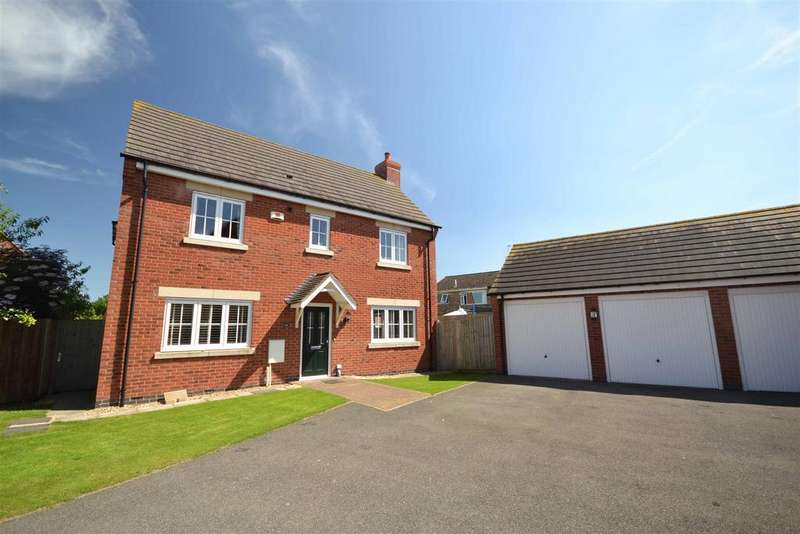 4 Bedrooms Detached House for sale in Ross Drive, Stamford