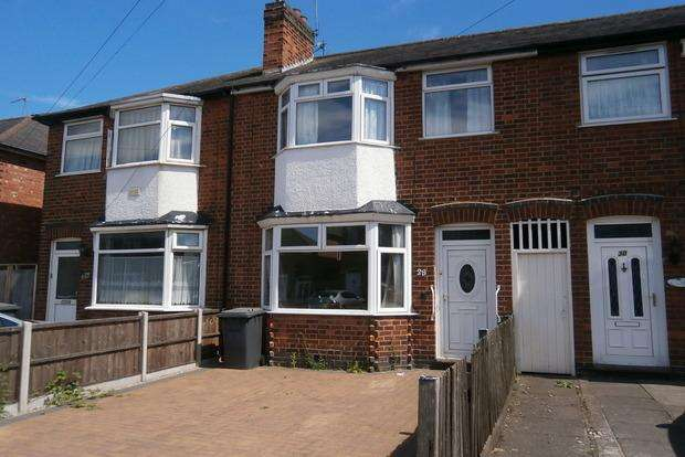 3 Bedrooms Terraced House for sale in Checketts Close, Belgrave, Leicester, LE4