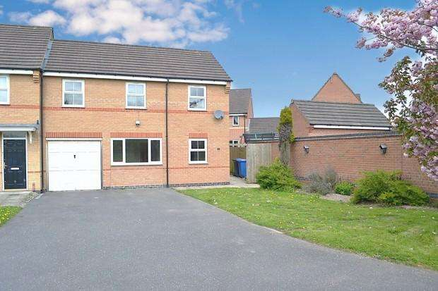 3 Bedrooms Town House for sale in Tayberry Close, Alvaston, Derby, DE24