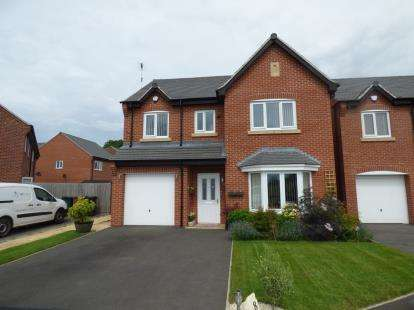 4 Bedrooms Detached House for sale in Sundew Court, Stenson Fields, Derby, Derbyshire