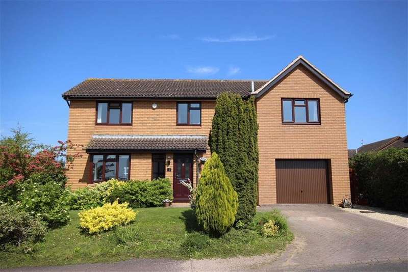 5 Bedrooms Detached House for sale in Nourse Close, Leckhampton, Cheltenham, GL53